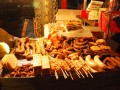 more skewers and sausages