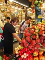carefully selecting the best produce