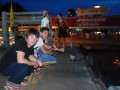 waiting for the river ferry