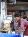 crushing ice early morning, pak chong
