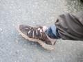 my makeshift leech sock