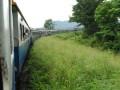 train takes a turn