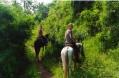 horse riding at lake atitlan