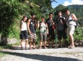 went with my brother and his great friends on a long hike in taroko gorge