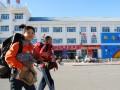my new friends li na and fu rao, on the way to the train to mongolia