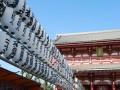 lanterns at the entrance of senso-ji