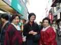 olivia insisted on taking a photo of me with kimono ladies