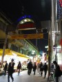 ueno market and the above ground subway