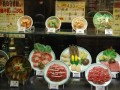 lots of food models