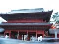 entrance to zojoji temple