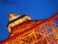 tokyo tower at magic minute sky