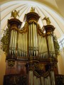gorgeous organ in the cathedral