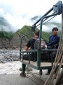 our ride across the river