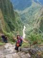 hiking to wayna picchu