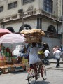 bike, rack of bread