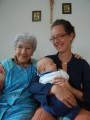 sohia, nephew and granny